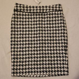 The limited  pencil skirt in size 0
